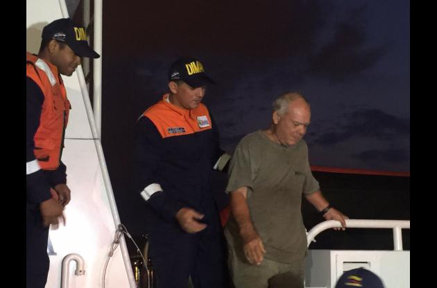 Luis José Blondet a la deriva en el mar caribe cartagena rescate