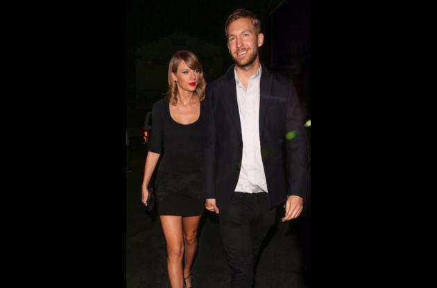Calvin Harris y Taylor Swift.