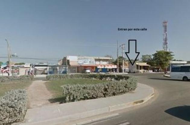 Este es el retorno que indebidamente están tomando los conductores de las busetas para evitar ir a El Pozón.