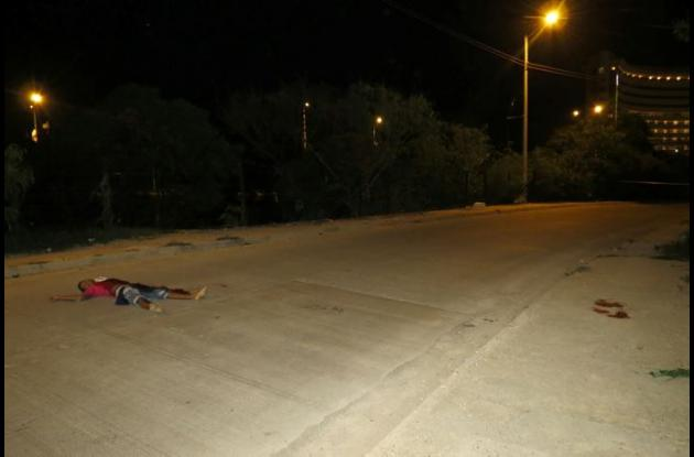 En Canapote mataron de dos cuchilladas a Raúl Corpas.