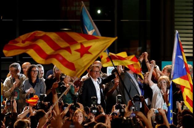 Independencia de Cataluña, España