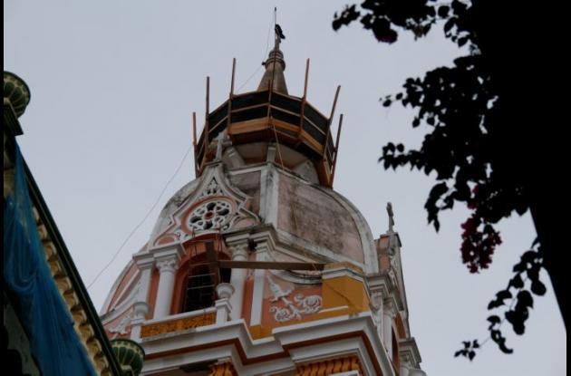 La Catedral Santa Catalina de Alejandría fue declarada Monumento Nacional de Colombia en 1995.