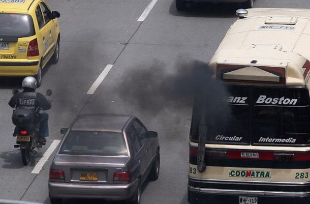 Los medios de transporte terrestre, producen el mayor número de los gases efecto invernadero del país