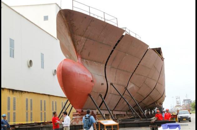 Otro de los retos de Cotecmar para los próximos años es la construcción de un  Empujador Fluvial, embarcación versátil para el transporte de carga en los ríos del país.