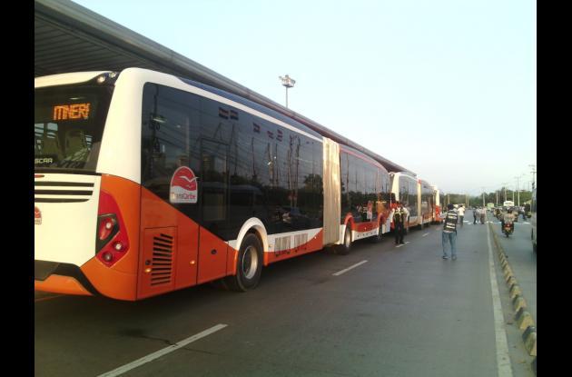 buses transcaribe cartagena