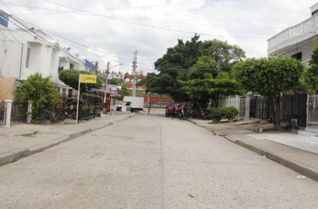Juan Carlos Mendoza fue baleado en la calle 7 de Agosto de Escallón Villa y murió tres días después del hecho.