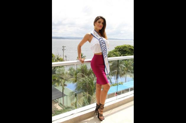 Ariadna Gutiérrez Arévalo, Señorita Colombia 2014.