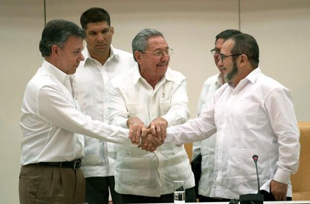 Acuerdos de paz entre Gobierno y Paz