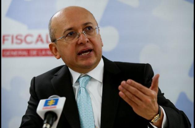 El fiscal General de la Nación, Eduardo Montealegre