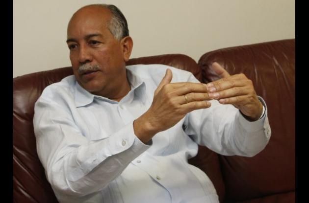 Germán Sierra Anaya, ex rector de la Universidad de Cartagena.