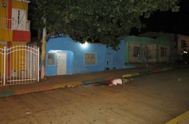 Al expolicía Alfonso Angulo lo ultimó un sicario el lunes, en el sector Las Delicias, en La Esperanza.