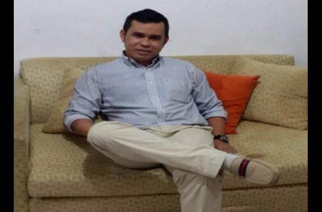 Lesmer Quintero Argel, uno de los abogados que lleva el caso del asesinato del director de Ragalías de Córdoba, Jairo Zapa.