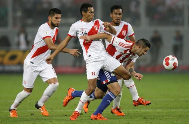 Encuentro Perú-Paraguay.