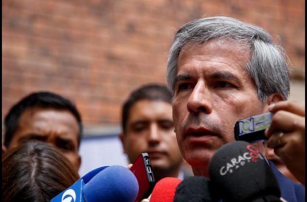 Yesid Reyes, ministro de justicia