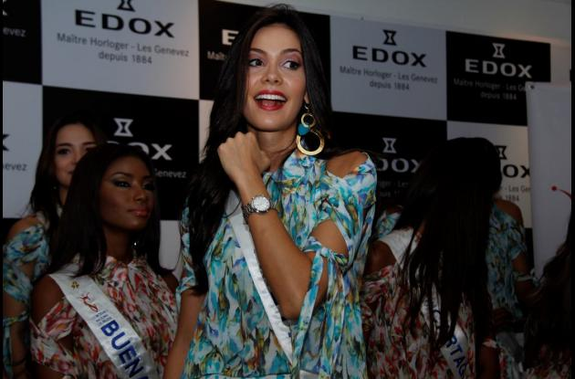 Ana Landaeta Gordillo, Señorita Meta.