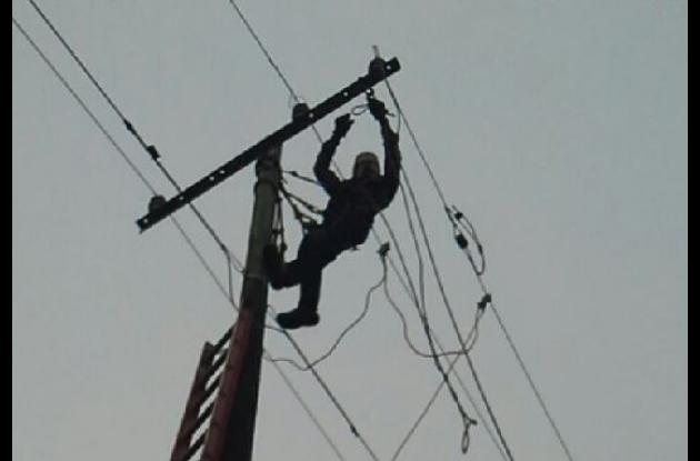 robo de cables de energía