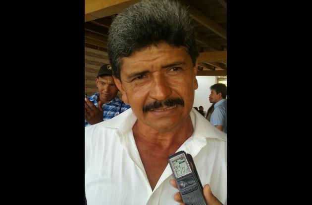 Adolfo Montero, cultivador.