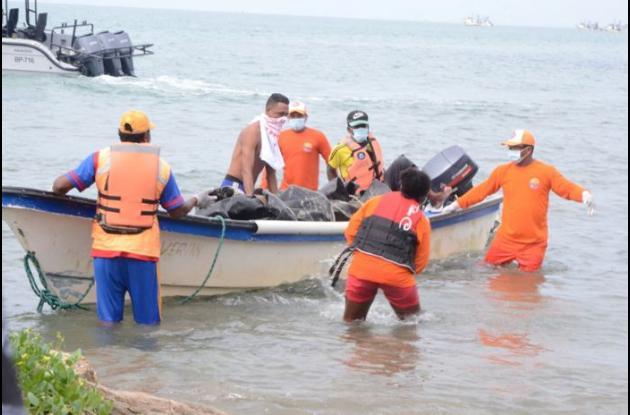 Los restos del pescador toludeño afiliado a la cooperativa Copesar, fueron hallados en jurisdicción de San Onofre.