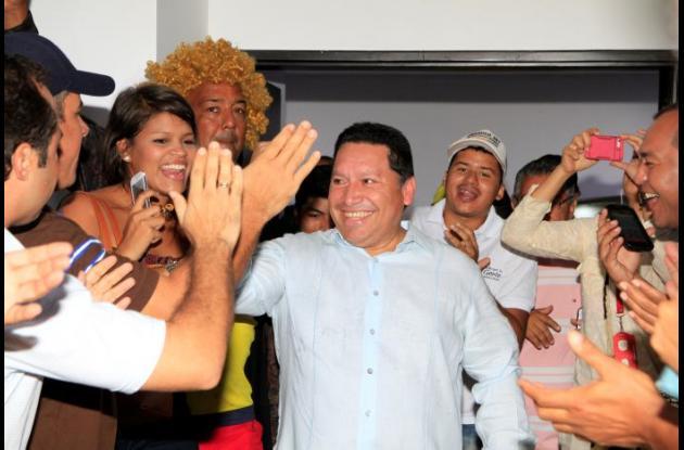 Manuel Vicente Duque, alcalde electo de Cartagena.