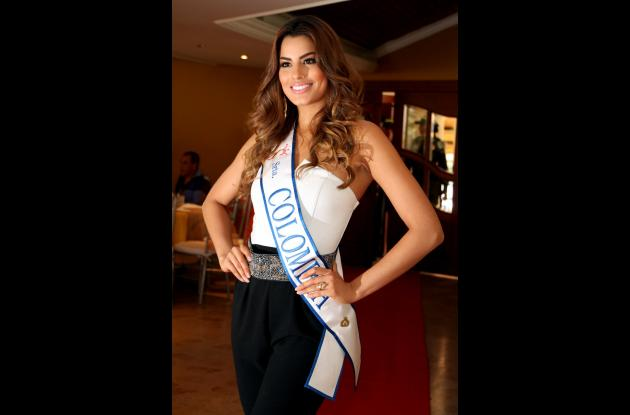 Ariadna Gutiérrez Arévalo, señorita Colombia 2014 - 2015.