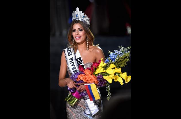 Ariadna Gutiérrez como Miss Universo.