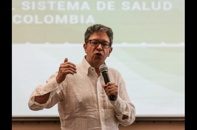Carlos Francisco Fernández, médico rehabilitador, neurofisiólogo, ex presidente de la Asociación Colombiana de Sociedades Científicas.