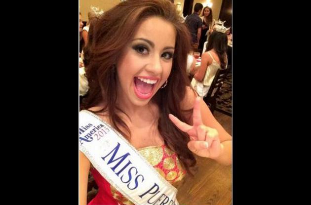 Destiny Vélez, Miss Puerto Rico.