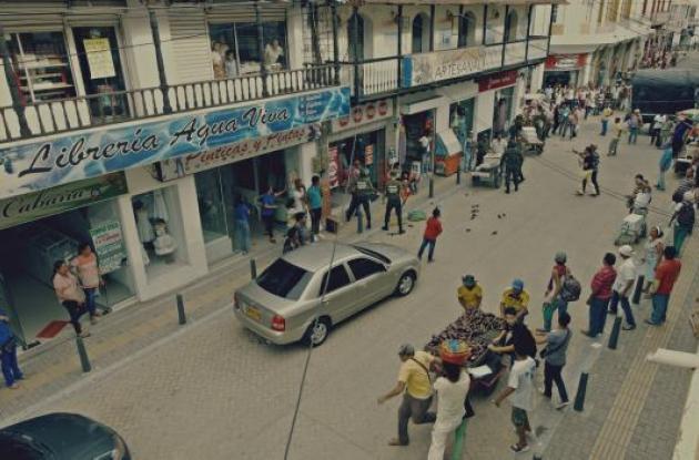 Varios de las escenas del corto se grabaron en la zona del viejo mercado público de Sincelejo.