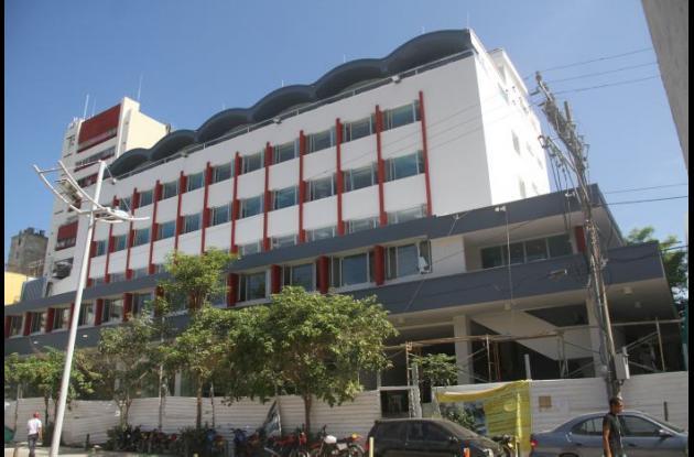 Fachada del Centro Administrativo del Distrito.