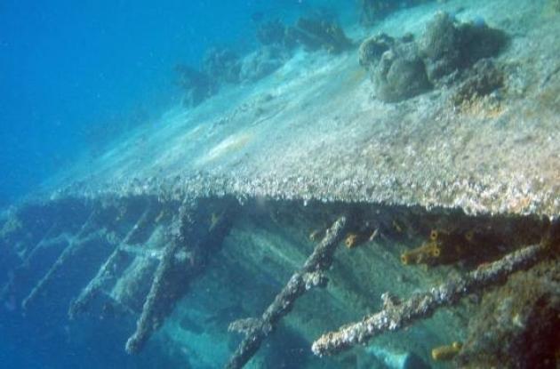 El galeón se encuentra a tal profundidad que no es accesible a buzos.