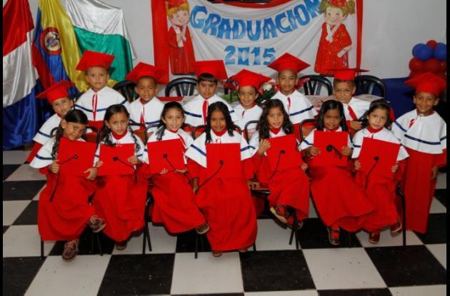 Grados de Preescolar del Colegio Semillas de Amor