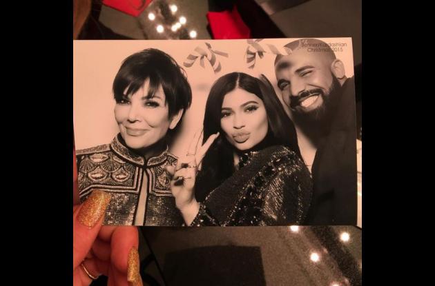 Kylie Jenner y su madre Kris.NAVIDAD