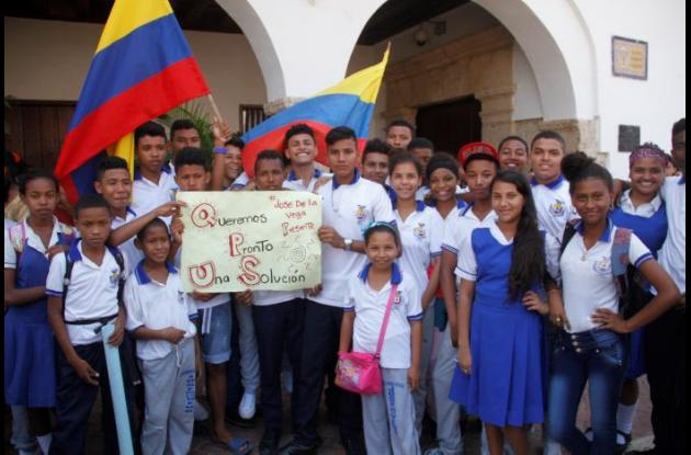 Protesta José de la Vega