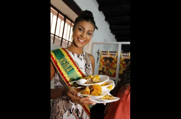 Naomy Ocoró, reina de la Independencia 2015-2016.