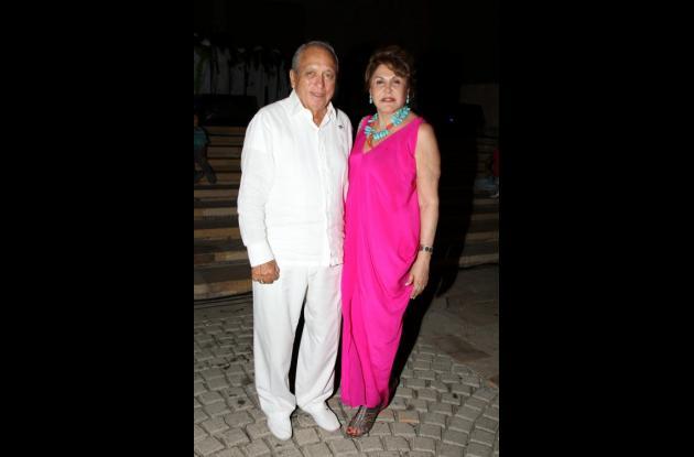 Rafael Grau y Consuelo Zuluaga.