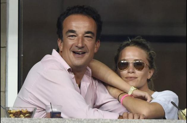 Mary-Kate Olsen junto a su nuevo esposo Olivier Sarkozy