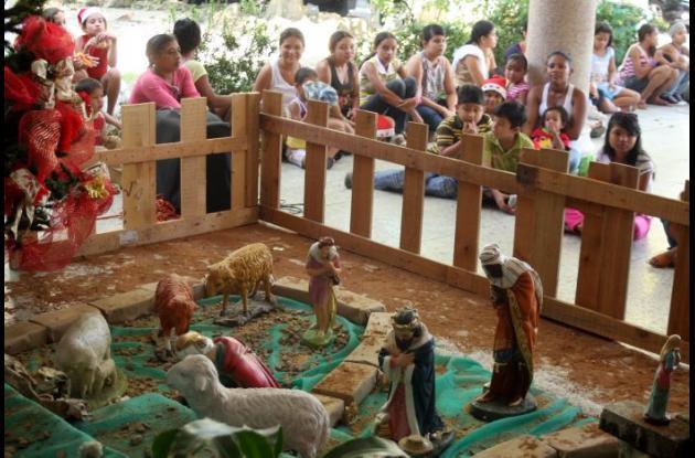 En Sincelejo se alistan para las novenas navideñas.
