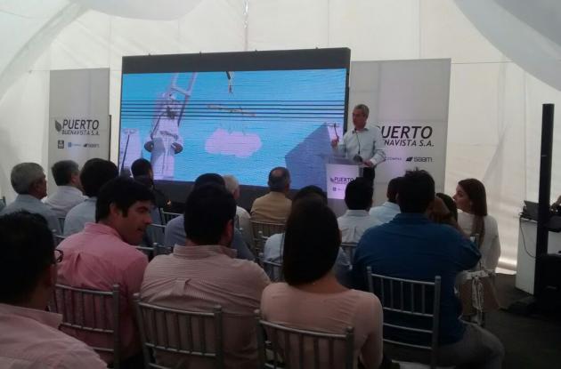 Inauguración del Puerto Buenavista.