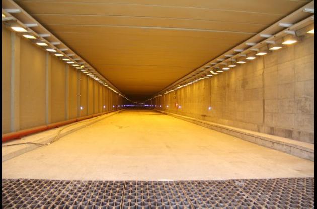Avance en las obras del Túnel de Crespo