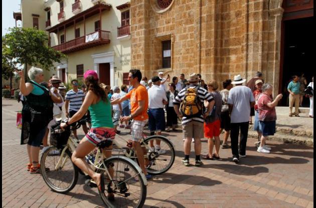 Temporada de vacaciones en Cartagena