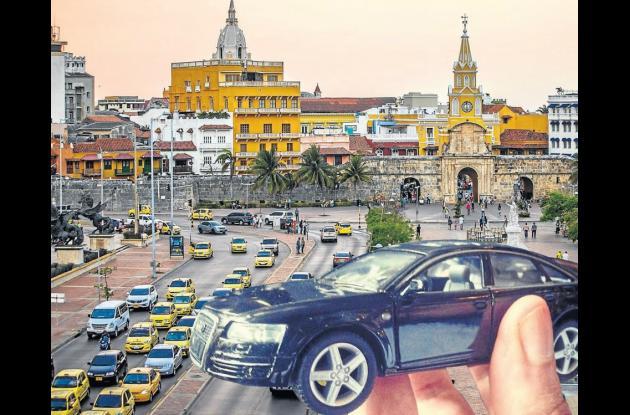 Uber llegó a Cartagena para operar permanentemente.