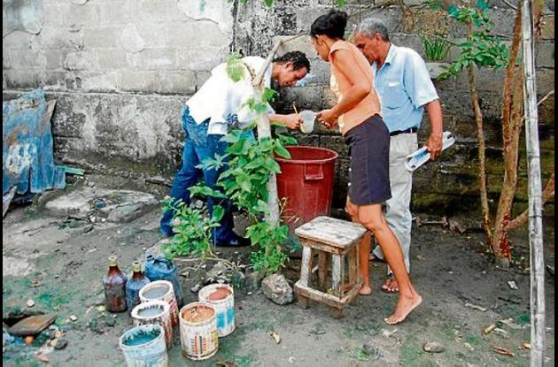 Campañas para erradicar reservorios de mosquitos.