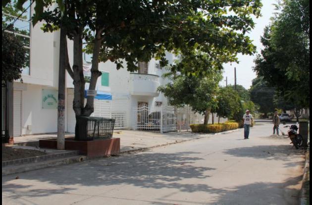 Barrio La Granja de Turbaco, donde balearon al docente Jesús Corrales para atracarlo.