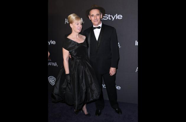 Claire van Kampen y Mark Rylance.
