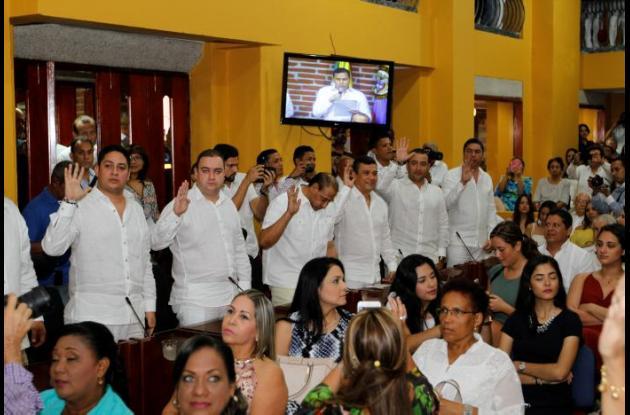 Concejo de Cartagena instala sesiones de 2016