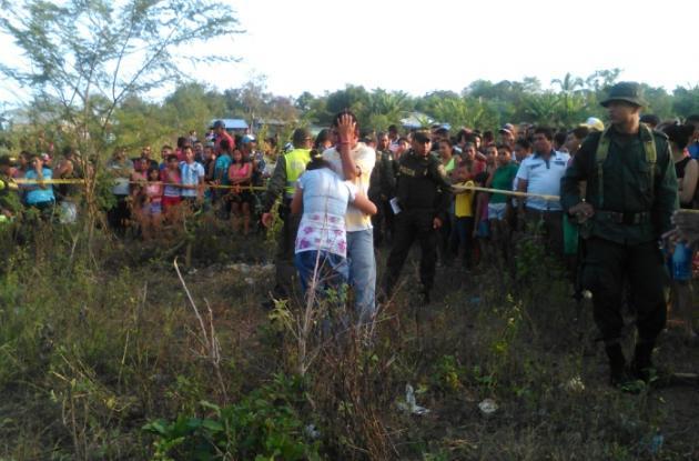 Familiares de niña de El Carmen de Bolívar a la que violaron y asesinaron.