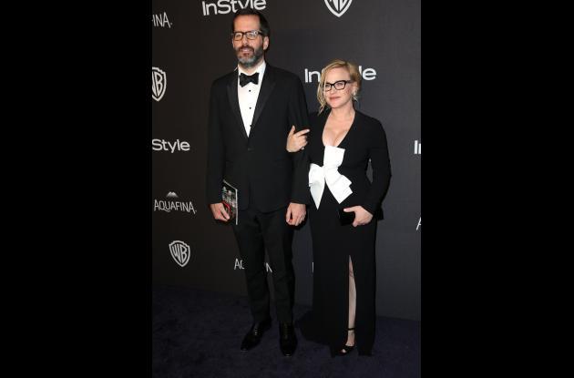 Eric White y Patricia Arquette.