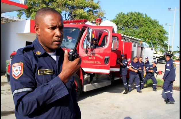 En la ciudad hay un total de 93 bomberos prestando servicio a la comunidad.