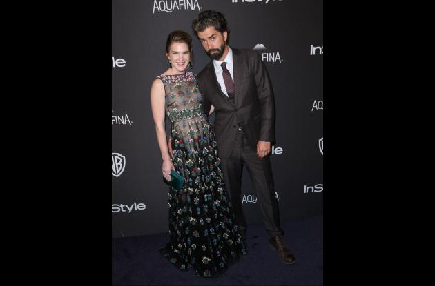 Lily Rabe y Hamish Linklater,