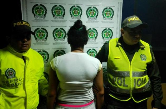 La presunta menor proxeneta quedó a disposición de las autoridades competentes.